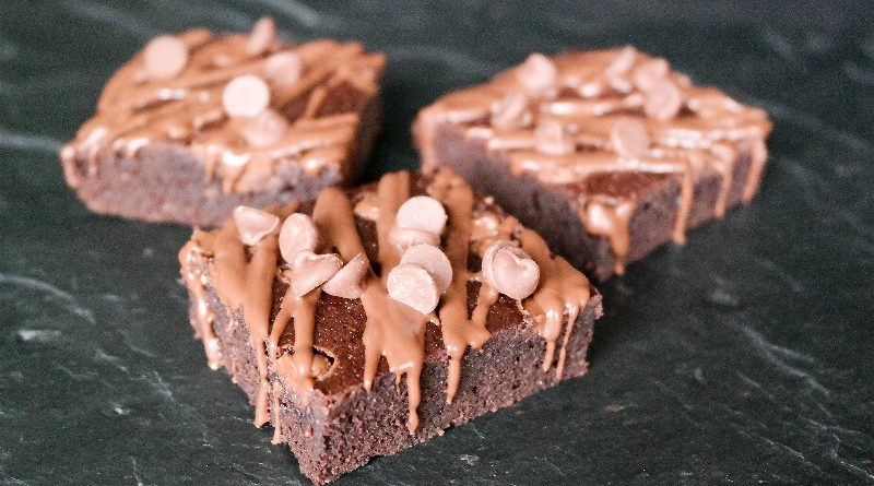 Double Chocolate Coconut Brownies