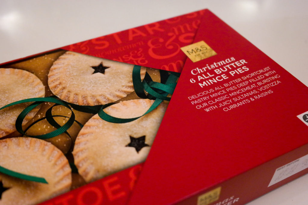 Christmas Snacks and Treats from Marks and Spencer