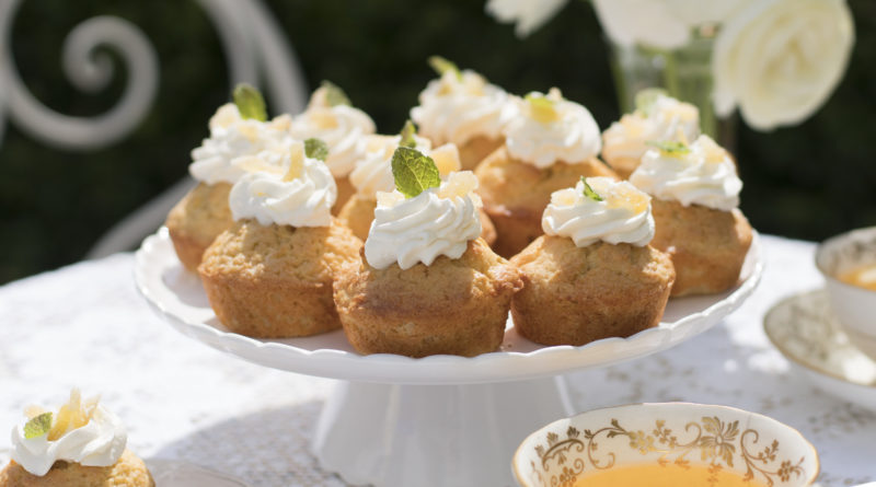 McKinney's Ginger Syrup Lime Tea Cakes